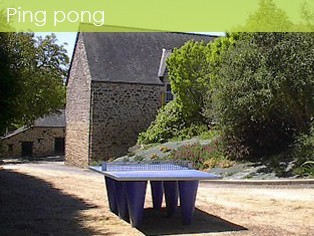 Tables de Ping pong du camping
